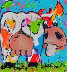 Liz, vrolijke koe