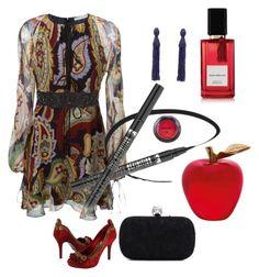 """Paisley: Pretty & Powerful!!"" by kjlnelson ❤ liked on Polyvore featuring moda, Daum, Chloé, Oscar de la Renta, Accessorize, Alexander McQueen, NYX ve Diana Vreeland Parfums"