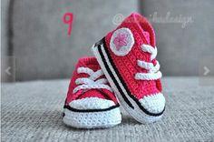 Como Fazer Tênis de Crochê Para Bebê (17)