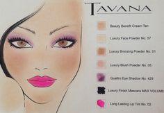 Summer Look by Tavana Cosmetics