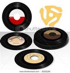 45 records , I had so many