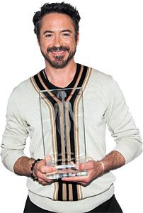 Robert Downey Jr. Honored for TCM Advocacy.    In the last two decades, movie star Robert Downey Jr. has achieved good health and he credits it all to Traditional Chinese Medicine.