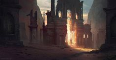 Broken Gate by jordangrimmer on DeviantArt