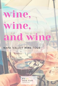 If you'd like to plan the ultimate Napa Valley wine tasting experience, we've got just the tour for you! We've selected our favorite 5 wineries throughout Napa Valley, based on tasting rooms, wine flight options, and the overall experience at each winery. #napavalley #wine #winetour Travel Usa, Travel Tips, Travel Guides, Travel Destinations, Food Travel, Travel Essentials, Napa Wine Tours, Wine Tasting Experience, Napa Valley Wine