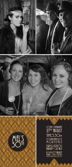 ROARING 20's PARTY!! I want a 20's party for my 29th party!! How fun to celebrate my last year in my 20's with a 20's themed party!!!!