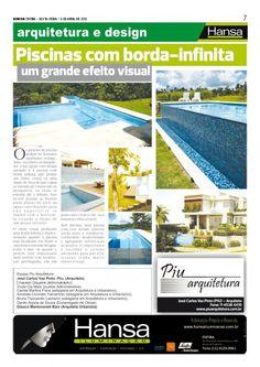 32°Publicação Jornal bom dia – Matéria - Piscina com borda - infinita   06-04-12