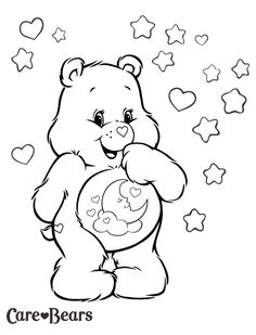 Delight your Care Bears fan with this Coloring and Activity Page featuring favorite bear characters! Care Bears coloring book is filled with stickers, Space Coloring Pages, Spring Coloring Pages, Quote Coloring Pages, Bear Coloring Pages, Disney Coloring Pages, Printable Coloring Pages, Adult Coloring Pages, Coloring Pages For Kids, Coloring Books