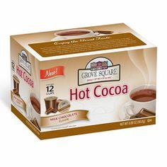 Grove Square Milk Chocolate Hot Cocoa Individual Cups - 72 ct.