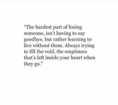 The hardest part...
