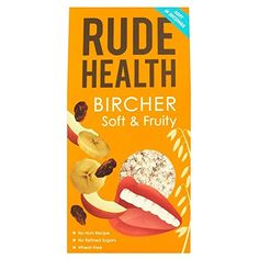 Rude Health Bircher Soft  Fruity Muesli 450g  Pack of 2 ** BEST VALUE BUY on Amazon