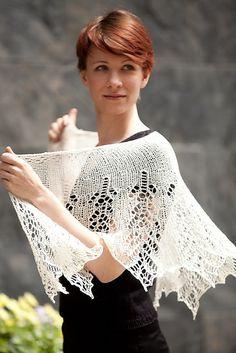 Ravelry: Grace Kelly Luxurious Beaded Shawl pattern by Susanna IC