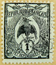 "french stamp France postes timbres 1c postage poste timbre Republique Francaise ""Nouvelle Caledone et Dependances"" 切手 selo França francobolli Francia sello 邮票 法国 yóupiào Fǎguó почтовая марка Франция ongkos kirim perangko Perancis رسوم البريد طوابع فرنسا by stampolina, via Flickr"