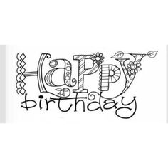 Atelier Raegeboge - Alphabete, Zahlen & Texte The Effective Pictures We Offer You About cursive Call Happy Birthday Doodles, Happy Birthday Tag, Birthday Cards, Doodle Lettering, Hand Lettering Quotes, Creative Lettering, Fotografia Tutorial, Card Sentiments, Digi Stamps