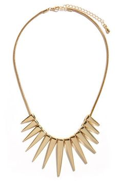 This kind of necklace looks awesome with any basic outfit (or a lbd) $17 #featuredpin