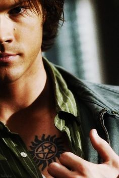 Anti possession tattoo on pinterest for Dean and sams tattoo