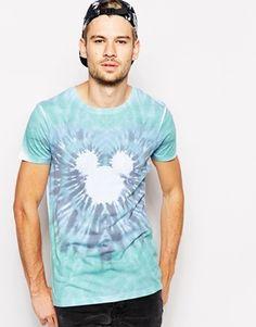 ASOS+T-Shirt+Tie+Dye+Mickey+Mouse+Print