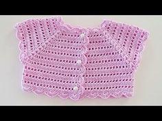 Crochet Baby Dress Free Pattern, Crochet Baby Boots, Bib Pattern, Granny Square Crochet Pattern, Crochet Girls, Crochet Baby Clothes, Baby Knitting Patterns, Crochet For Kids, Crochet Patterns