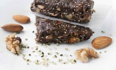 <p>These bars aren't your traditional flakey and hard energy bars. They are soft, chewy, and moist with crunchy surprises from the chia seeds and nuts.</p>