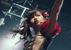 BABYMETAL - YUI<<< I think people are getting yui metal and moa metal mixed up