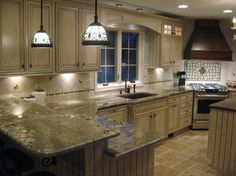 Backsplash design.  Dream Kitchen by Antuan Frayman - traditional - kitchen - philadelphia - Master Kitchen & Bath Design LLC