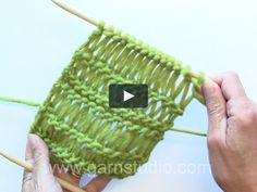How to knit dropped stitches aka elongated sts in different lengths Patterns with dropped stitches/elongated stitches with different lengths are very popular. In this DROPS video we show how to knit a dropped stitch with 1 yo and… Crochet Stitches Patterns, Baby Knitting Patterns, Knitting Designs, Crochet Designs, Stitch Patterns, Diy Crafts Knitting, Easy Knitting, Knitting Projects, Herringbone Stitch