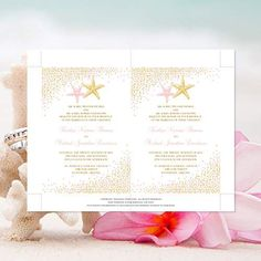 Free Beach Wedding Invitation Templates For Word