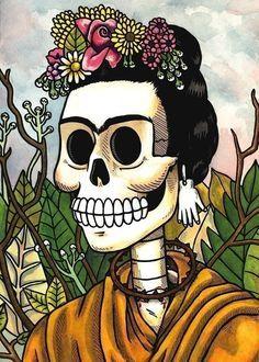 Image result for frida kahlo prints plain pastel