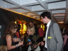 pre networking mingling