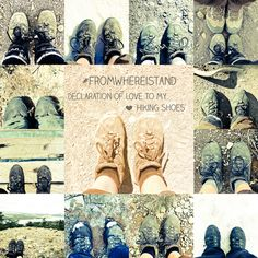 #fromwhereistand Declaration of love to my hiking shoes.