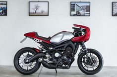Yamaha XSR 900 Cafe Racer by North East Custom #motorcycles #caferacer #motos | caferacerpasion.com