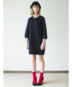 SINDEE(シンディー)のARABESQUE OP(ワンピース・ドレス)|ネイビー