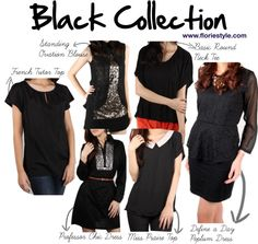 """""""Everybody needs Black Outfits!"""" by floriestyle on Polyvore"""