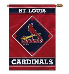 ST. LOUIS CARDINALS 1-SIDED 28 X 40 HOUSE BANNER