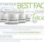 Olivella Giveaway is here! Sign-up to win an exclusive Olivella Facial Kit. This set has a value of $69.99 and will surely help you put on your best face