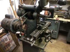 BURKE-4-HORIZONTAL-MILL-WITH-VERTICAL-HEAD-ARBORS-AND-SOME-ACCESSORIES