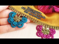 589- Günaydınnnn Bayılacagınız Bi tasarım yaptım. - YouTube Saree Kuchu Designs, Abaya Fashion, Crochet Videos, Baby Knitting Patterns, Diy And Crafts, Crochet Earrings, Make It Yourself, Embroidery, Jewelry