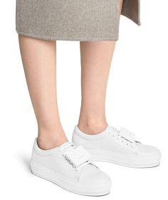 Adriana grained sneakers Acne Studios zfcEtWPa