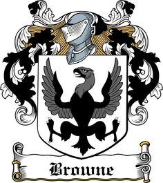 browne coat of arms england | Browne Family Crest / Irish Coat of Arms Image Download - Download ...