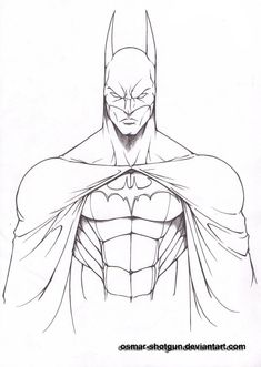 Learning how to draw the batman symbol is extremely easy. Description from…