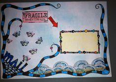 Zentangle Envelope