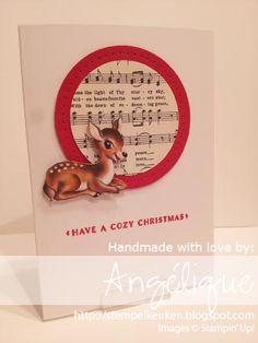 de Stempelkeuken: Bloghop Creatieve Harten: Home for Christmas