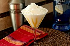 Tres Leches Caketini. Pin takes you to Snappy Gourmet's blog with instructions and it is a site filled with recipes!
