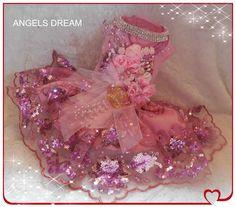 Think Pink, with swarvoski crystals designer gown