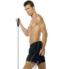 Resistance band workouts for men can sometimes prove to be better than the traditional iron bar techniques of physical training. While training with resistance bands, you can work the entire muscle as a whole.