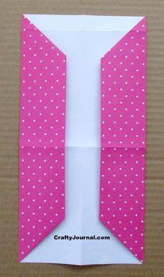 8 Pocket Folder from One Sheet of Paper Pocket Page Scrapbooking, Mini Scrapbook Albums, Scrapbook Paper, Paper Crafts Origami, Diy Paper, Paper Crafting, Heart Journal, Junk Journal, Folder Diy