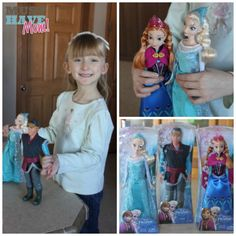Win Frozen Dolls Elsa and Anna! (sponsored) giveaway ends 12/16 from Must Have Mom!