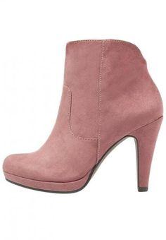 Ankle-Boots in zartem rosé, von Tamaris, ca., 50 Euro
