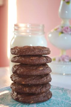 Chocolate (Andes) Mint Chip Cookies