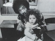 Jimi with his swedish son, James Daniel Sundquist                                                                                                                                                                                 More