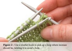A knitter's guide to fixing mistakes.